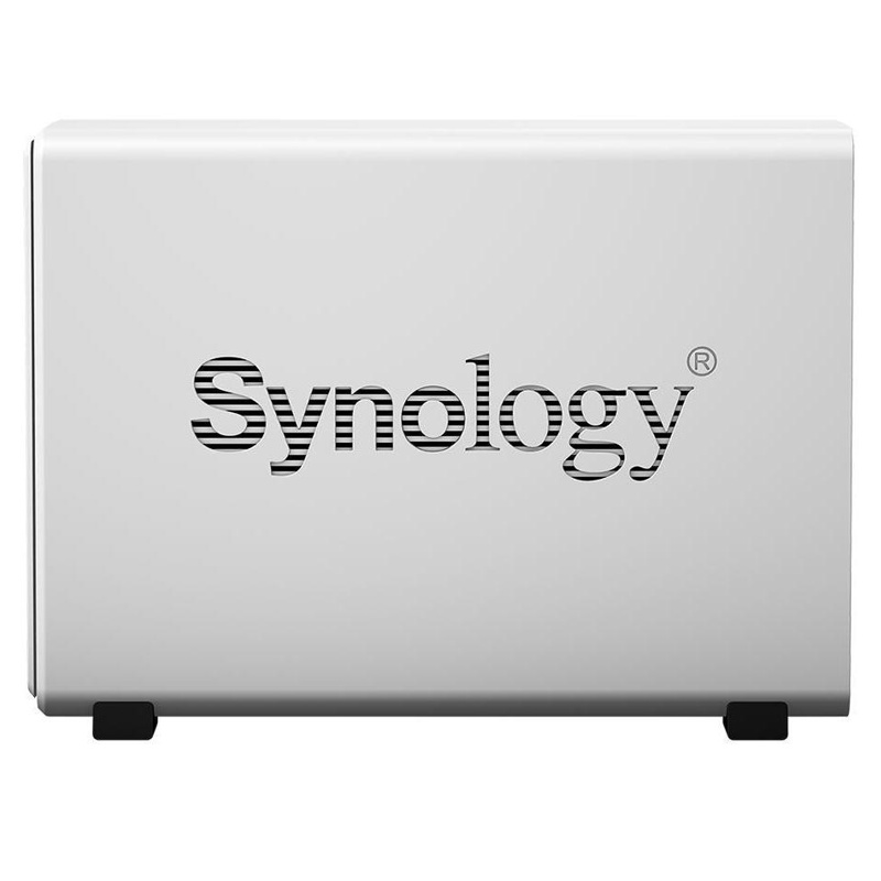 NAS Synology DS120j 1-bay, WD Red Plus 4TB (PC Gaming-Zubehör)