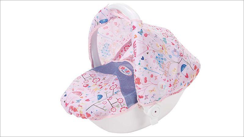 baby born zubeh r puppenwagen mit komfortsitz spielwaren. Black Bedroom Furniture Sets. Home Design Ideas