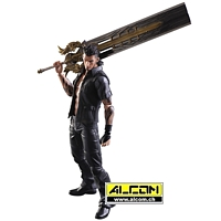 Figur: Final Fantasy 15 - Gladiolus (30 cm) - Play Arts Kai