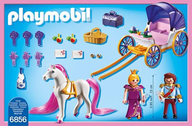 Playmobil princess k nigspaar mit pferdekutsche 6856 spielwaren - Playmobil kutsche ...