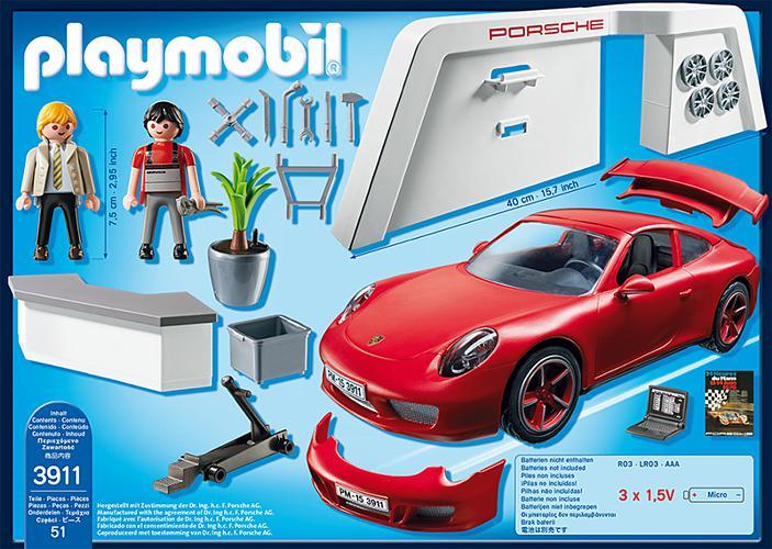 playmobil porsche porsche 911 carrera s 3911. Black Bedroom Furniture Sets. Home Design Ideas