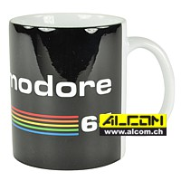 Tasse: Commodore 64 - Black Logo