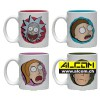 Espresso-Tassen: Rick and Morty - Characters