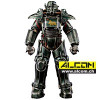Figur: Fallout 1/6 T-45 NCR Salvaged Power Armor (36 cm) ThreeZero