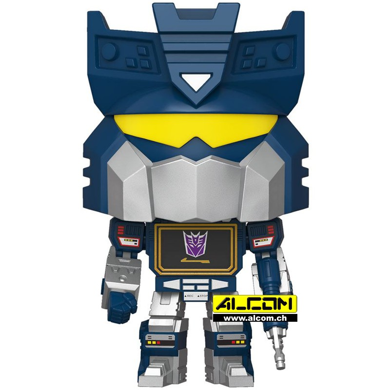 Figur: Funko POP! Transformers - Soundwave (9 cm)