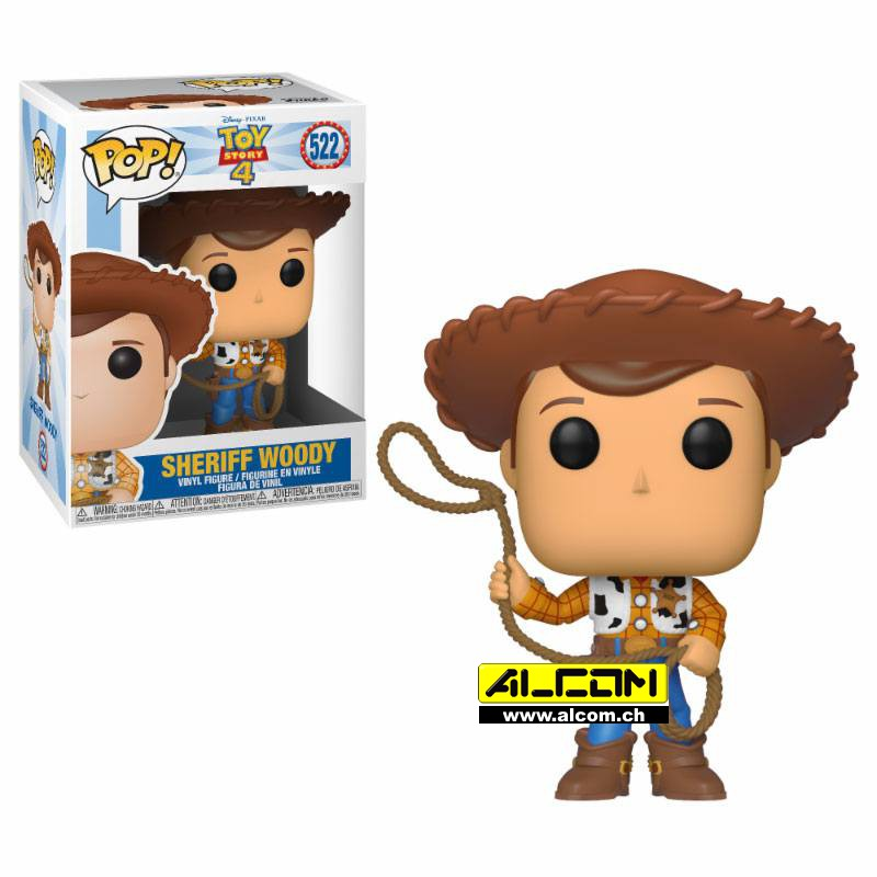 Figur: Funko POP! Toy Story - Woody (9 cm)