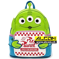 Rucksack: Disney by Loungefly - Toy Story Alien Pizza Box