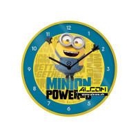 Wanduhr: Minions 2 - Minion Powered