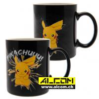 Tasse: Pokemon - Pikachu (Thermoeffekt)