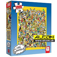 Puzzle: Die Simpsons - Cast of Thousands (1000 Teile)