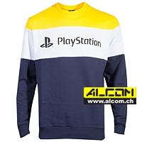 Pullover: Sony Playstation - Colour Block