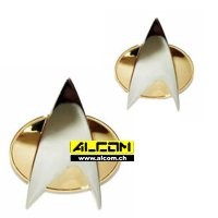 Abzeichen: Star Trek - The Next Generation (Pin + Button)
