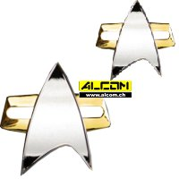 Abzeichen: Star Trek - Voyager (Pin + Button)