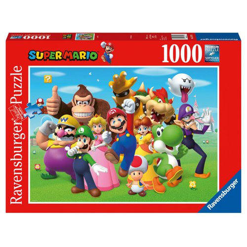 Puzzle: Super Mario Characters (1000 Teile)