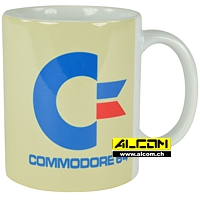 Tasse: Commodore 64 - White Logo