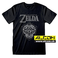 T-Shirt: The Legend of Zelda - Distressed Shield
