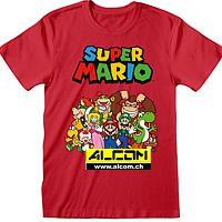T-Shirt: Super Mario - Main Character Group