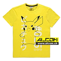T-Shirt: Pokemon - Shocked Pikachu