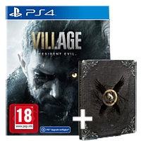 Resident Evil Village - Steelbook Edition (Playstation 4)