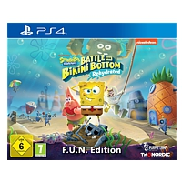 SpongeBob: Battle for Bikini Bottom - Rehydrated - F.U.N. Edition (Playstation 4)