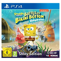 SpongeBob: Battle for Bikini Bottom - Rehydrated - Shiny Edition (Playstation 4)