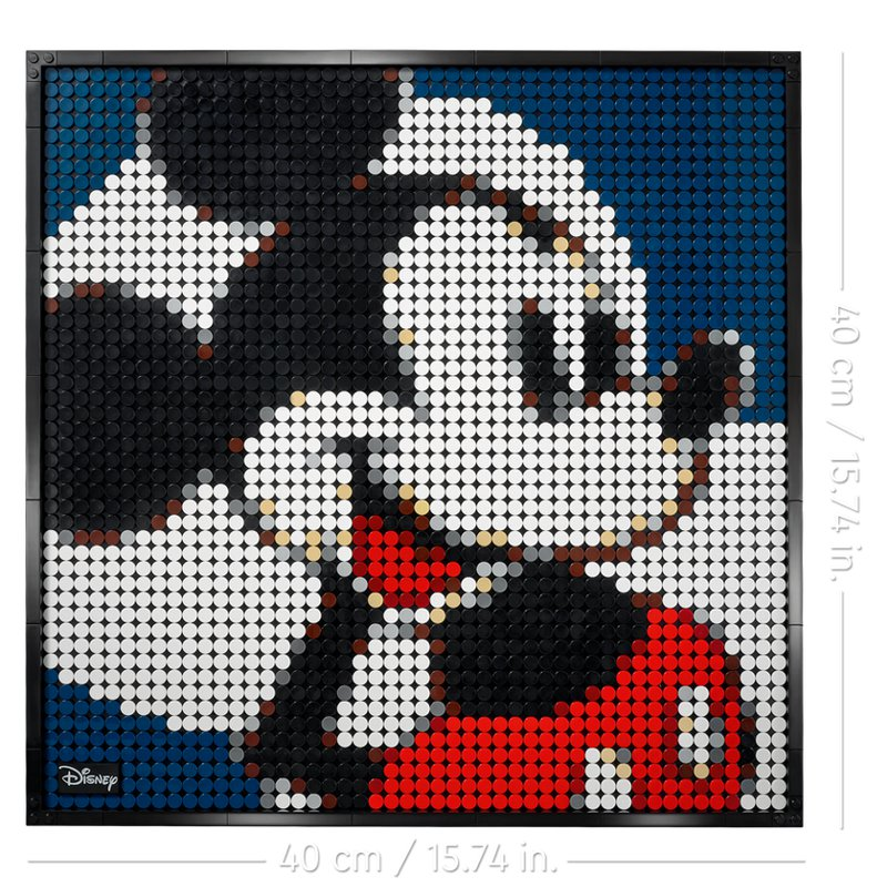 LEGO Art: Mickey Mouse (31202)