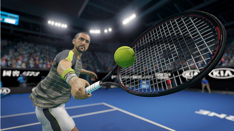 AO Tennis 2 (Playstation 4)