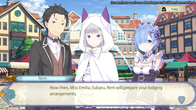 Re:ZERO - Starting Life in Another World: The Prophecy of the Throne (Switch)