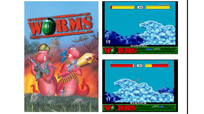Evercade Cartridge 18 - Worms Collection 1