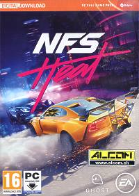 Need for Speed: Heat (Code in a Box) (PC-Spiel)