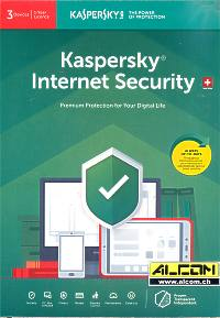 Kaspersky Internet-Security 3-Lizenzen