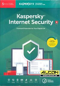 Kaspersky Internet-Security 5-Lizenzen